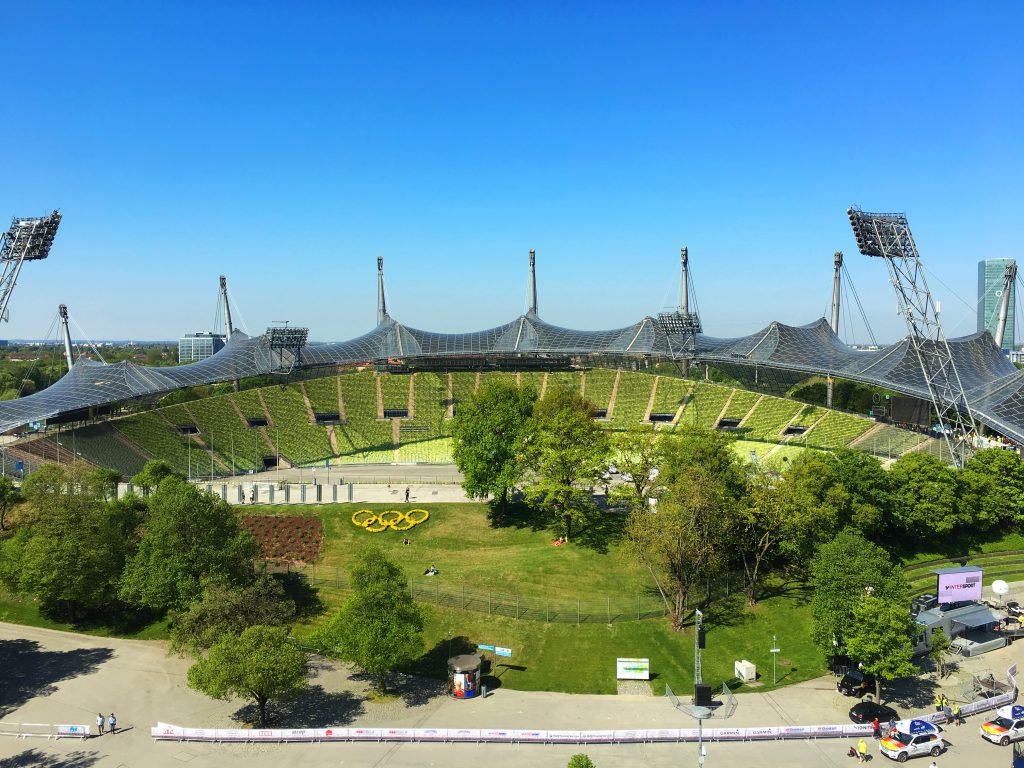 Ballonfahrt Oberbayern Olympiastadion