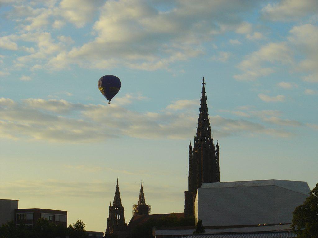 Ballonfahrt Schwäbische Alb - Ulmer Münster