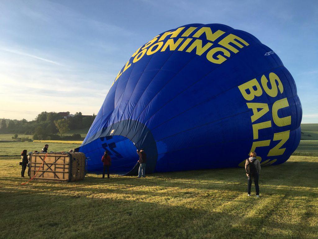 Ballonfahrt Morgen