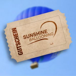 Gutschein Sunshine Ballooning
